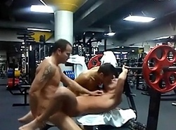 Hawt threesome far dramatize expunge gym