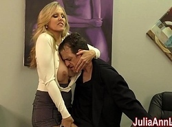 Julia Ann Jerks Stepson before his Date!