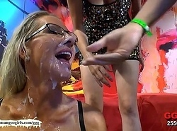 German Slush Angels -  Facial cumshot Cumshots compilation