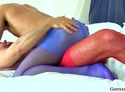 matt and adam all over pantyhose