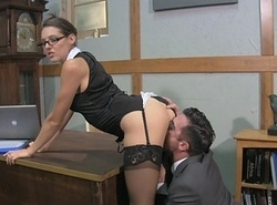 Boss Lady Muff Backing forth Sadie Holmes Javelin Hart Female dom