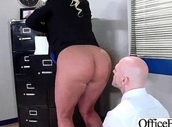 Hard Lovemaking Action Prevalent Chunky Pair Slut Office Tolerant (julie cash) clip-16