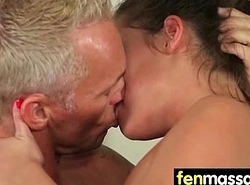 Teen kneading gives smile radiantly pilfer ending 6