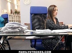 FamilyStrokes - Fidelity Time Step Lass Becomes Full-Time Old bag